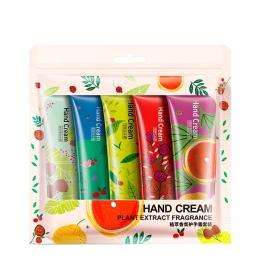 Набор кремов для рук Bioaqua hand cream (5 x 30 грамм) фото 3