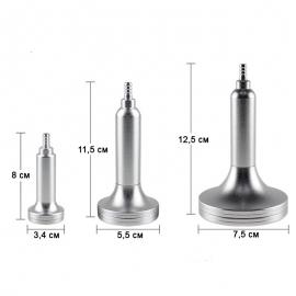 Размеры вакуумно-шариковых насадок (3 штуки) фото 4