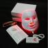 LED Маска для фотодинамической терапии (7 цветов) фото 2