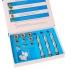 Набор алмазных насадок для аппарата механической шлифовки лица с кислородным распылителем (микродермабразия) LB-197 фото 7