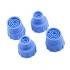 Набір силіконових насадок для гідродермабразії і аквапілінг 15 мм (4 шт.) фото 2